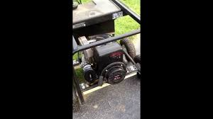 10hp tecumseh hm100 stalling out youtube