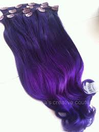 purple hair extensions 81 best hair extensions images on colourful hair hair