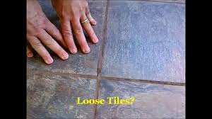 how to fix loose u0026 hollow tile floors don u0027t remove or replace