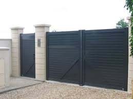 portails de jardin portail de jardin aluminium portail 3m coulissant maison infos
