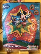 mickey mouse clubhouse centerpieces mickey mouse centerpiece party supplies ebay