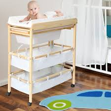 Pine Changing Table by Infantastic Baby Bath And Changing Table Unit Station Nursery