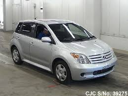 2007 toyota ist silver for sale stock no 39275 japanese used