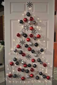 Easy Christmas Decorations To Make At Home Best 25 Wall Christmas Tree Ideas On Pinterest Xmas Trees Real