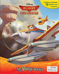 disney planes fire u0026 rescue busy book phidal bargain
