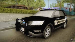 Ford Explorer Body Styles - ford explorer 2016 red county sheriffs office for gta san andreas