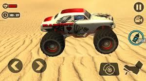 monster truck racing games road monster truck desert 2