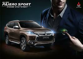 mitsubishi pajero japan mitsubishi pajero all new mitsubishi pajero sport takes safety and performance to