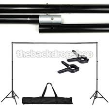 photography backdrop stand photography backdrop stand with clamps adjustable 10ft x6ft