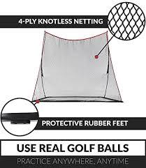 Backyard Golf Nets Rukket Haack Golf Net 3pc Bundle With Flexible Golf Swing Plane