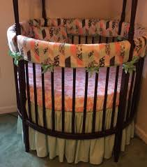 top round crib bedding advantage of round crib bedding u2013 home