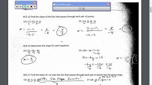 algebra 2 chapter 2 test review video youtube
