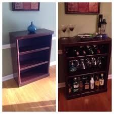 bookcase bar diy love pinterest bookcase bar bar and bar carts