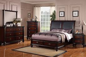 Solid Wood Bedroom Furniture Cherry Wood Bedroom Furniture Sets Vivo Furniture
