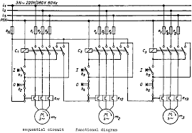 wiring diagram for lighting contactors circuit and schematics
