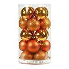 orange christmas tree decorations amazon com
