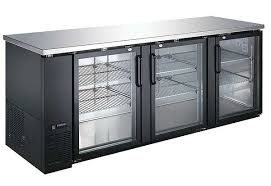 refrigerators with glass doors u star 28 x 90 inch back bar cooler with glass doors usbb 9028g