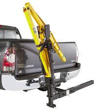 apex hydraulic receiver hitch crane 1 000 lb capacity receiver