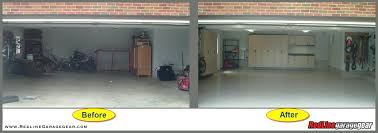 Building A 2 Car Garage by That U0027s A Great Garage Before U0026 After