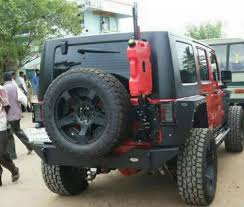 modified jeep 2017 india s 1st modified jeep wrangler is a total beast