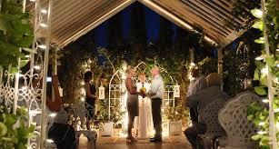 wedding packages in las vegas nighttime garden wedding package