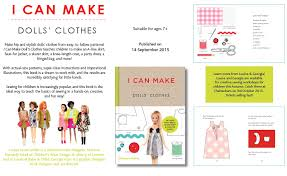 doll design book a new book i can make dolls clothes pirouette