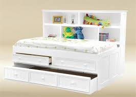 storage ideas marvellous white full size bed with storage full