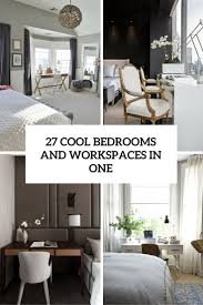 Cool Bedroom 27 Cool Bedrooms And Workspaces In One Digsdigs