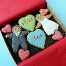 Unusual Wedding Gift Ideas Bride And Groom Gift Box Medium Unusual Wedding Present Cookie