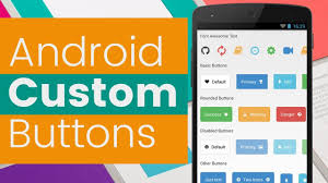 android image button custom button in android fastest way to design android button