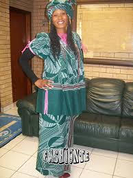 Recent Traditional Wedding Dresses For Shweshwe In South Africa