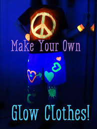 how to use black light paint what to wear to a black light party clothes and accessories holidappy