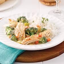 cuisiner le poulet casserole de poulet et brocoli pour sacs à congeler recettes