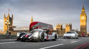porsche 919 top view porsche u0027s 919 le mans car takes to london top gear