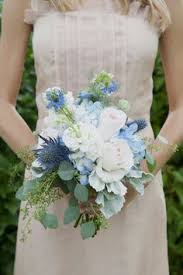 Shabby Chic Wedding Bouquets by Blue And Ivory Shabby Chic Wedding Romantic Weddings Romantic