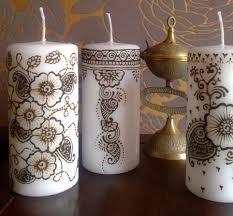 bougie hennã mariage bougie henné vente kit bougie decoration henné pas cher