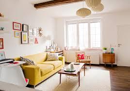 Narrow Leather Sofa Baroque Ikat Pillows In Living Room Scandinavian With Beautiful