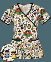 thanksgiving scrub top 29 best scrubs images on scrub tops work blouse and scrubs