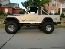 jeep scrambler for sale sell used 1982 jeep scrambler laredo silver black no reserve