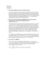 Accuracy Vs Precision Worksheet Answers Measurements Worksheet