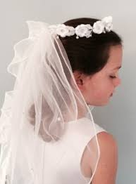 communion hair accessories view all communion veils headpieces from catholic faith store