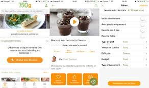 application recettes de cuisine les meilleures applications gratuites de cuisine pour android et iphone