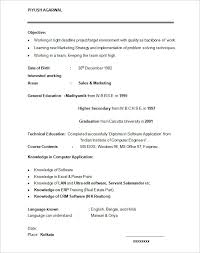 mba application resume format resume format examples for students