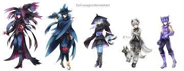 halloween pokemon gijinkas by evil usagi on deviantart