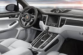 porsche interior 2016 confirmed 2017 porsche macan getting i 4 option in u s