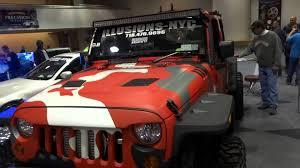 camo jeep yj ny auto show 2014 dub show the camo jeep pt 1 youtube