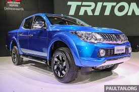 mitsubishi attrage bodykit gallery 2016 mitsubishi triton updated in thailand