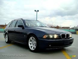 bmw orient blue metallic 2003 bmw 5 series 525i sport wagon in orient blue metallic photo
