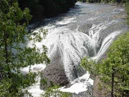 Louisiana waterfalls images Potawatomi falls great lakes drive jpg