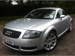 audi tt used used audi tt 2002 petrol 1 8 t quattro 2dr coupe edition for